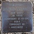 Stolperstein Dahn Grabenstraße 11 Martha Schwarz.jpg