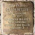 Stolperstein Damaschkestr 23 (Charl) Clara Helfft.jpg