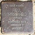 Stolperstein Hewaldstr 9 (Schöb) Paul Hirschfeld.jpg