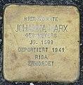 Stolperstein Johanna Marx geb.Meyer, Gescher Bushaltestelle Fabrikstraße.jpg