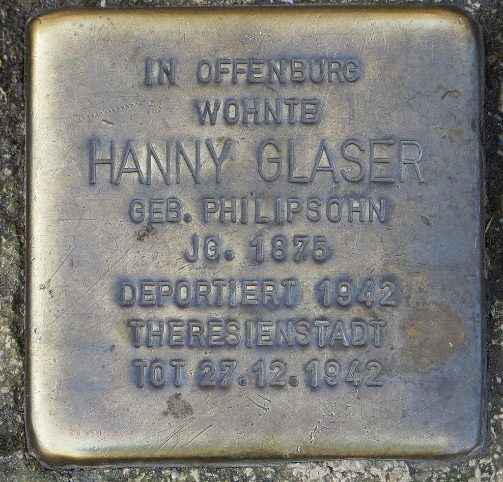 Stolperstein Offenburg Hanny Glaser.jpg