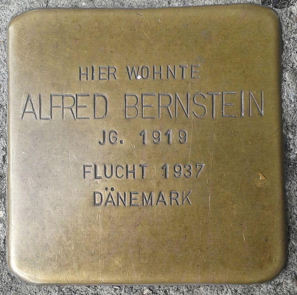 Stolperstein Selters Bahnhofstraße 8 Alfred Bernstein
