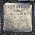 Stolperstein Spandauer Str 17 (Mitte) Wilfrid Israel.jpg