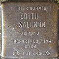 Stolperstein for Edith Salomon (Im Dau 12)