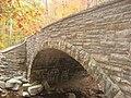 Stone Arch Bridge over McCormick's Creek, eastern side closeup.jpg