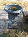 Stone vase in Percel Park, 2016 Bonyhad.jpg