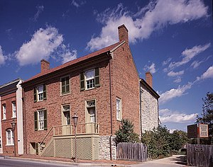Stonewall Jackson house located at 8 East Wash...