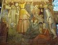Storie di s. pietro martire, pellegrini alla tomba 04.JPG