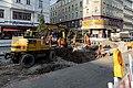 Straßenbahn Wien Gleisbett-Erneuerung Lerchenfelder Straße Kaiserstraße 2020-07-17 10.jpg