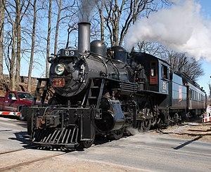 Canadian National 89 - Image: Strasburg RR