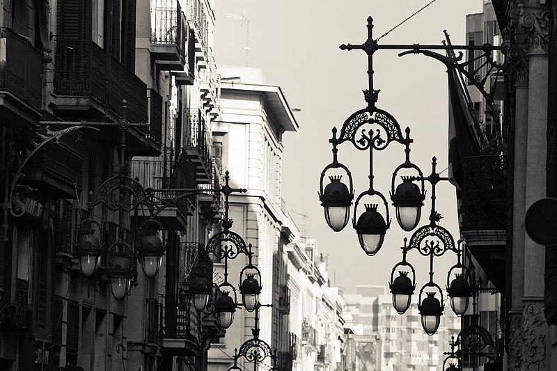 Calle de Barcelona.