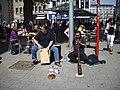 Street musicians in Clogne..jpg