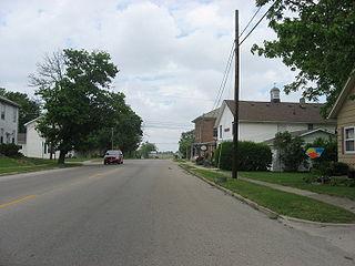 Mutual, Ohio Village in Ohio, United States