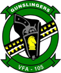Strike Fighter Squadron 105 (US Navy) insignia 2014.png
