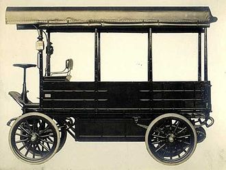 Studebaker Electric - Omnibus Electric Bus made by Studebaker.