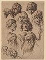 Study of Eleven Heads MET DP152106.jpg