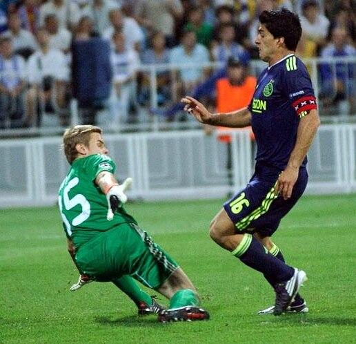 Suarez Ajax captain