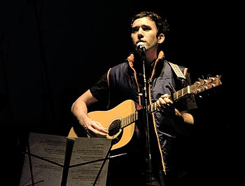 English: Sufjan Stevens at the Independent Mus...