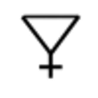 Symbol (chemistry) - Image: Sulfur symbol 2