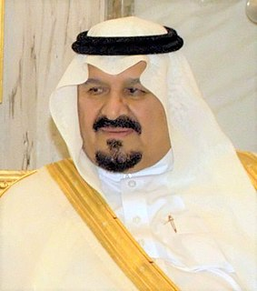 Sultan bin Abdulaziz Al Saud Crown Prince of Saudi Arabia