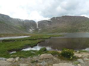 Mount Evans - Summit Lake Park on Mount Evans