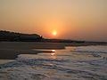 Sunrise over fishing boats in Kerala.jpg