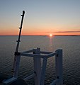 Sunset on 'Silja Europa' - Baltic Sea - panoramio.jpg
