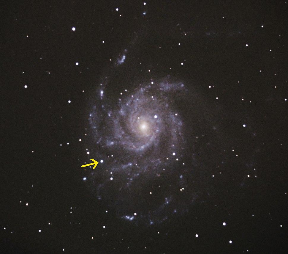 Supernova in M101 2011-08-25