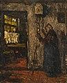 Suze Robertson - Oude vrouw bij een klok - 0537 - Rijksmuseum Twenthe.jpg