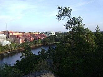Övre Rudasjön - Image: Sweden. Stockholm County. Haninge Municipality. Handen 060