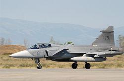 Saab 39 Gripen, modernt jaktplan.