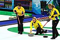 Swedish curlers at Olympics 2010.jpg