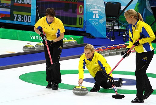 Swedish curlers at Olympics 2010