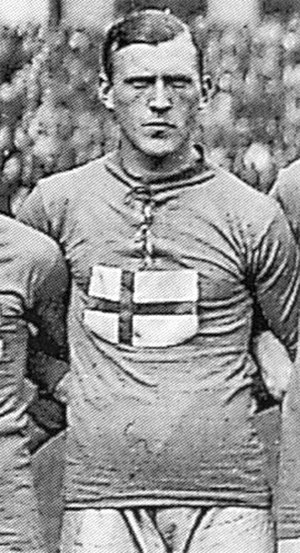Football at the 1920 Summer Olympics - Herbert Carlsson (Sweden), topscorer of the tournament with 7 goals.
