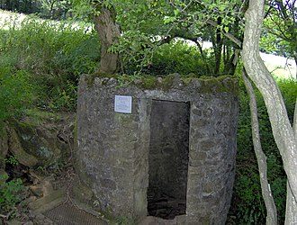 Caves of the Mendip Hills - Entrance to Swildon's Hole at Priddy, Somerset