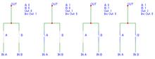 3.6 Логические элементы Логическая схема и не на моп транзисторах