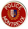 Switzerland - Police Municipale Montreux (screenprint)(defunct) (5190630276).jpg