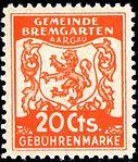 Switzerland Bremgarten 1940 revenue 20c - 23.jpg