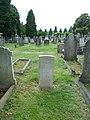 Sydney Omar Hall The Middlesex Regiment war grave Southgate Cemetery.jpg