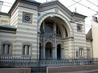 The Choral Synagogue of Vilnius, the only synagogue in the city to survive the Holocaust.