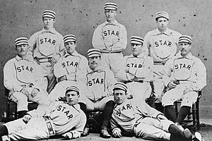 Syracuse Stars (National League) - The independent Syracuse Stars of 1877, direct forerunner of the major league Stars of 1879.