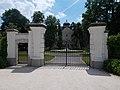 Széchenyi Zsigmond Vadászati Múzeumpark, a díszudvar kapuja, 2017 Hatvan.jpg