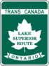 Trans-Canada Highway Lake Superior Route shield