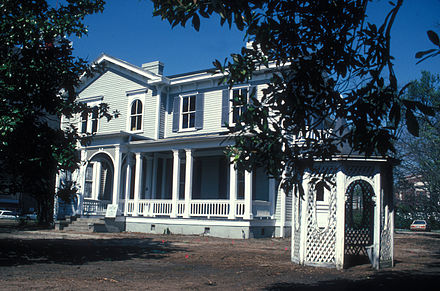The home in 1971 THOMAS WOODROW WILSON BOYHOOD HOME.jpg