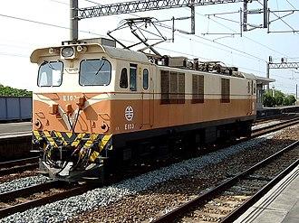 Union Carriage & Wagon - Taiwan Railways Administration Type E100 locomotive