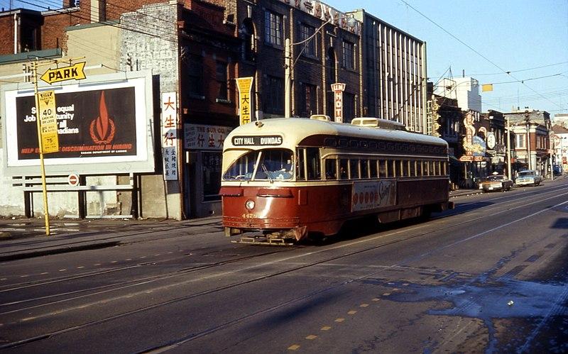 File:TTC 4478 Dundas Avenue Toronto 1968.jpg
