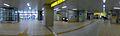 TX Nagareyama-otakanomori Station - inside panorama - April 14 2015.jpg