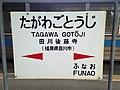 Tagawa-Gotoji Station Sign (Gotoji Line).jpg