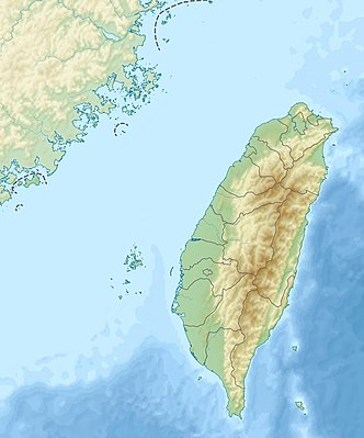 Location map Taiwan