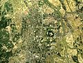 Takada district Joetsu city Aerial photograph.1975.jpg